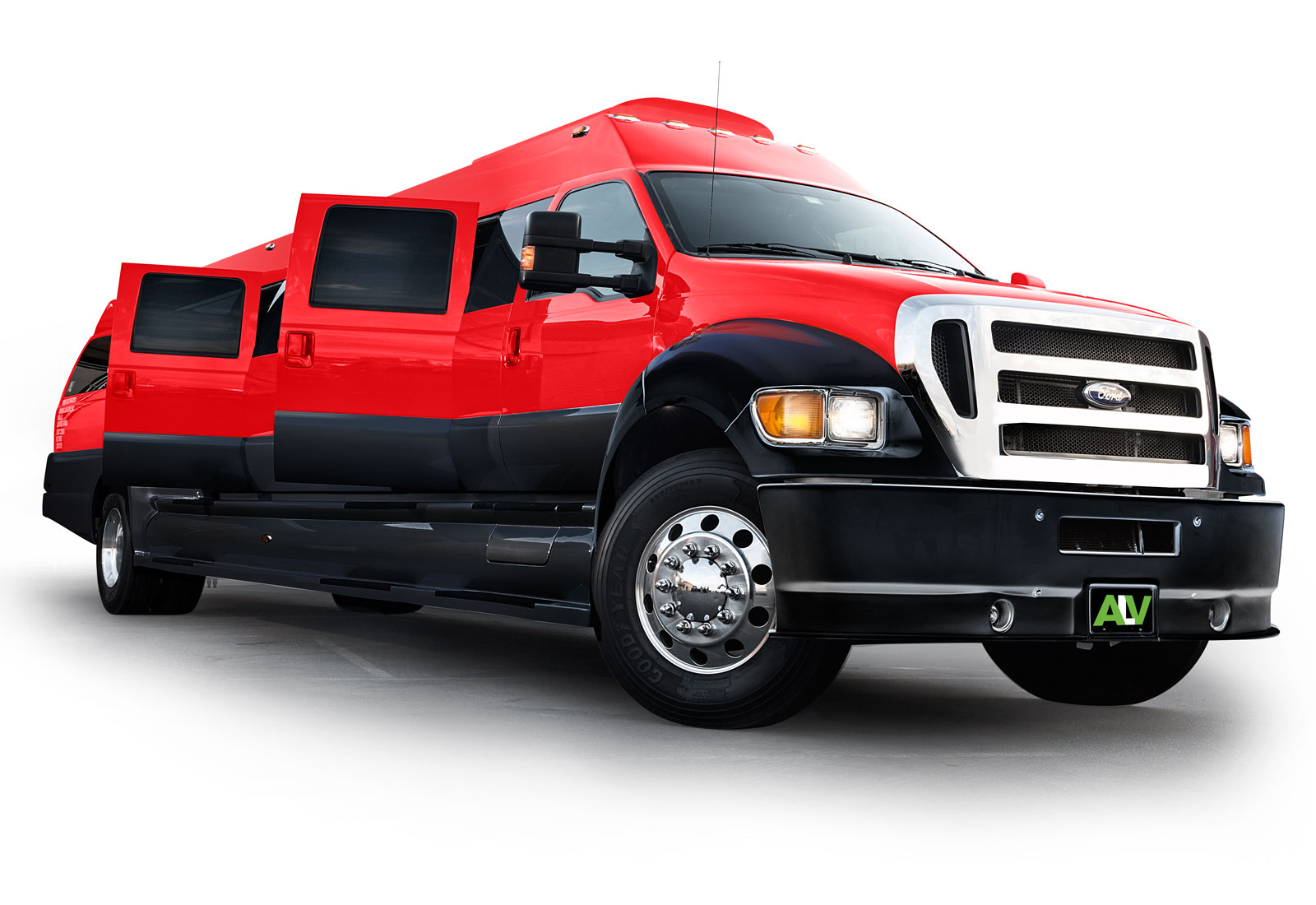 ALV F-650 Super Limo Red