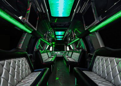 ALV F-650 Super Limo - Silver Interiors